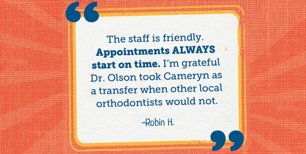 appointments olson orthodontics